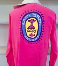 Palmy Neon Pink Back