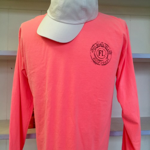 circle neon bright front