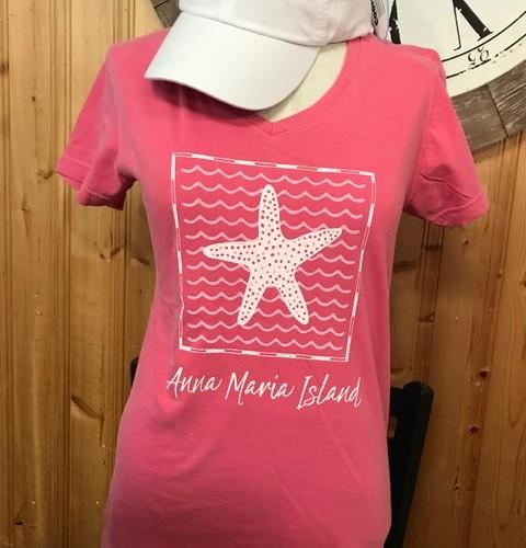 AMI Starfish V Neck