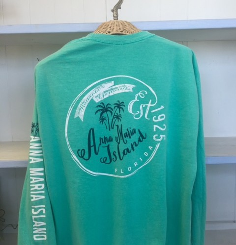 Adults Teal Long Sleve AMI - Back