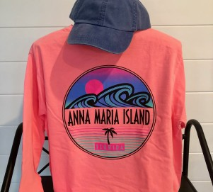 Island Surf Long Sleeve Back