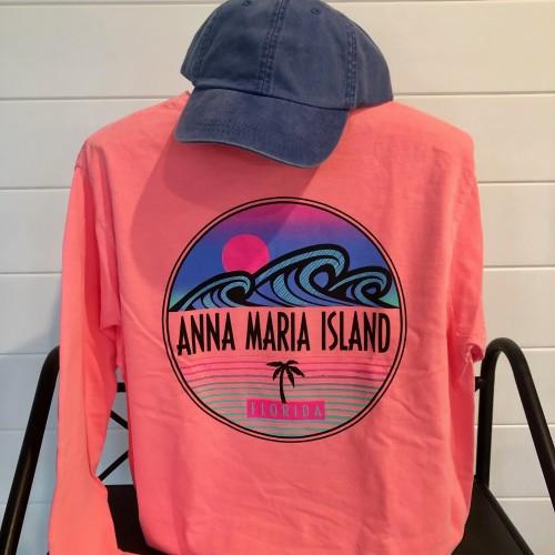 Island Surf Long Sleeve Back