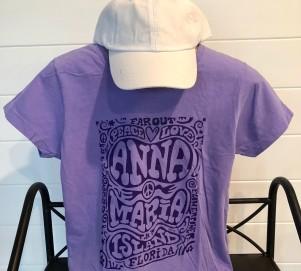 Retro Purple Crew Neck