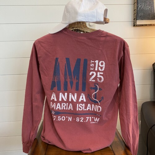 Two Sides Maroon AMI Anchor