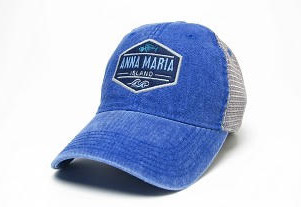 blue AMI hat