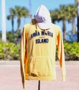 Yellow Hooded Sweat