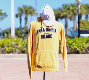 Yellow Hooded Sweat