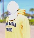 yellow hooded sweat hood