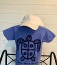 Kid Big Blue Turtle Back 19