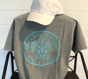 Teal Turtle Back