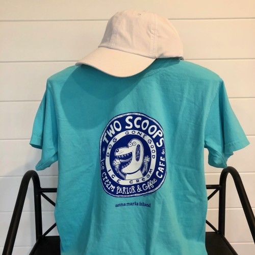 two sccops adult tee