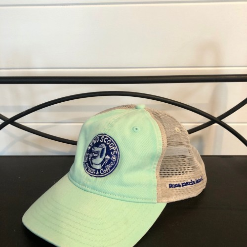 two scoops netted hat 20