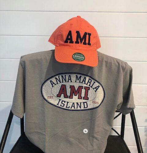 AMI classic grey back