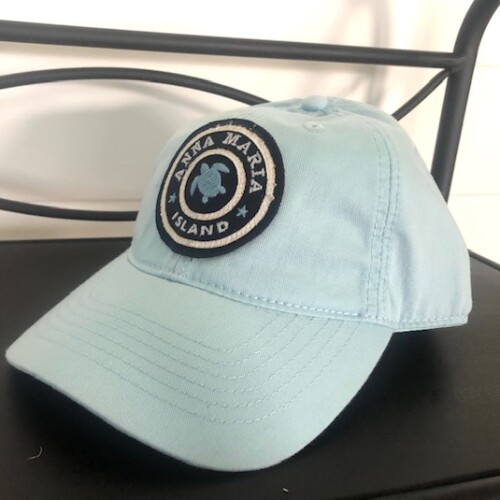 Light blue turtle hat