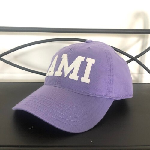 Light purple AMI hat