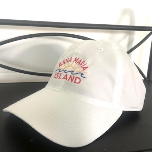 White SPF hat