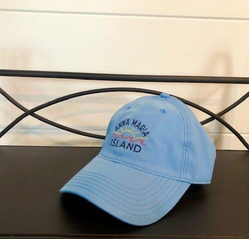 AMI light blue SPF hat