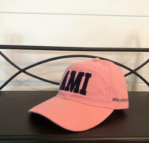 AMI stitched hat_pink