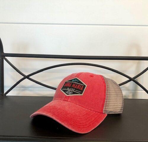 AMI trucker hat red